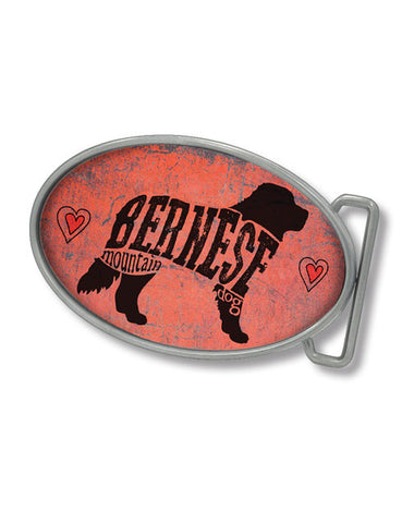 Bernese Belt Buckle (Pink)