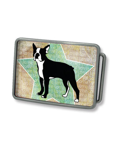 Boston Terrier Belt Buckle