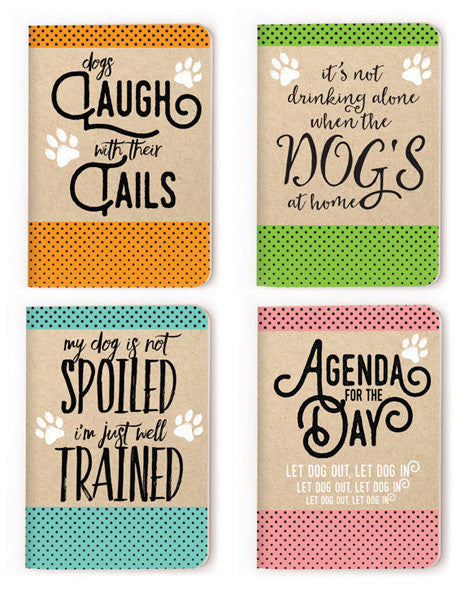 Notebooks (set of 4) - Wag Wisdom