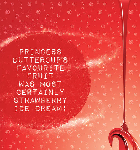 Princess Buttercup and Strawberry Ice-cream