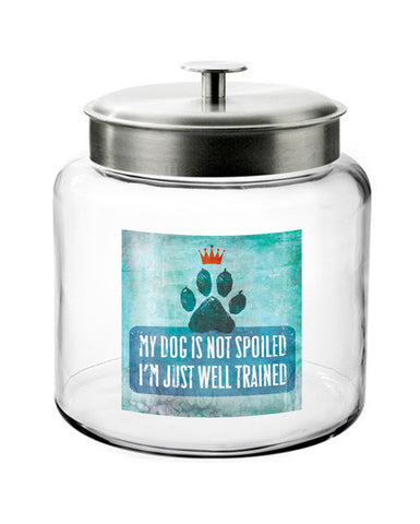 Montana Glass Treat Jar - Wag Wisdom