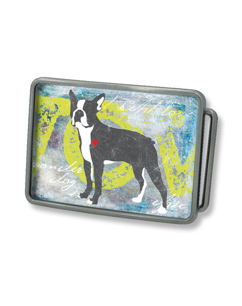 Boston Terrier2 Belt Buckle