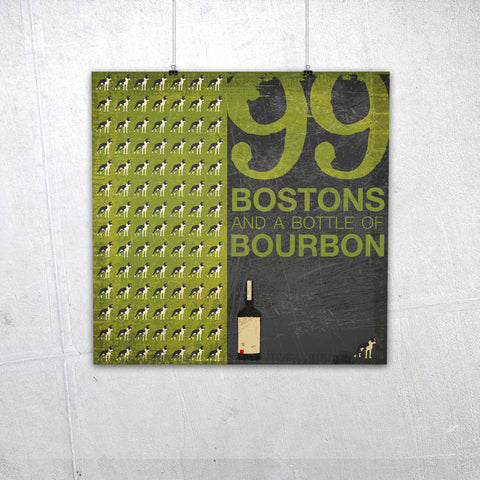 99 Bostons and a bottle of Bourbon