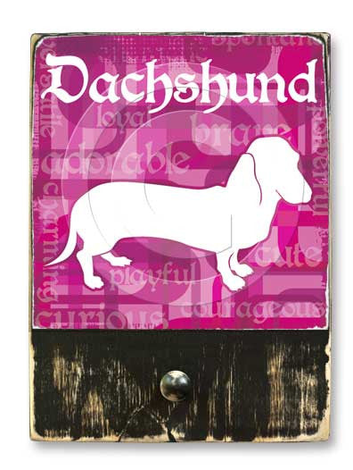 Dachshund Short Hair (pink)