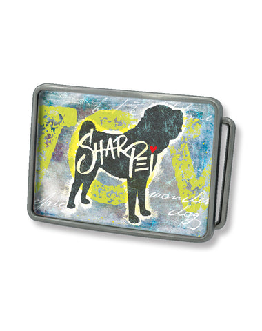 Sharpei Belt Buckle