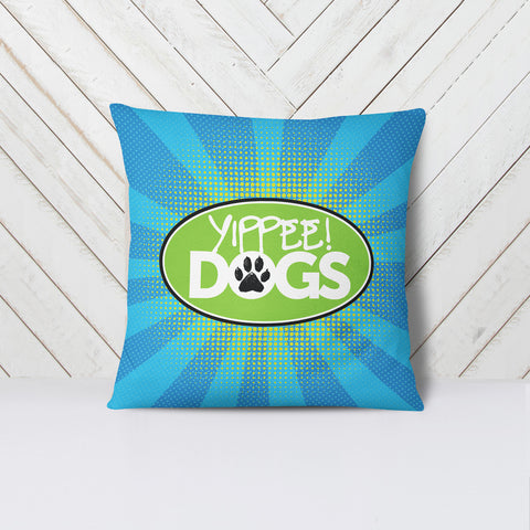 Yippee! Dogs Pillow