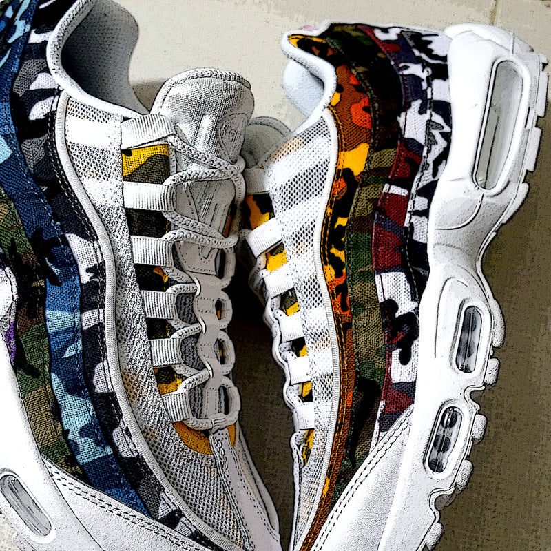 : Another color of Nike Air Max 95 ERDL Party Camo :