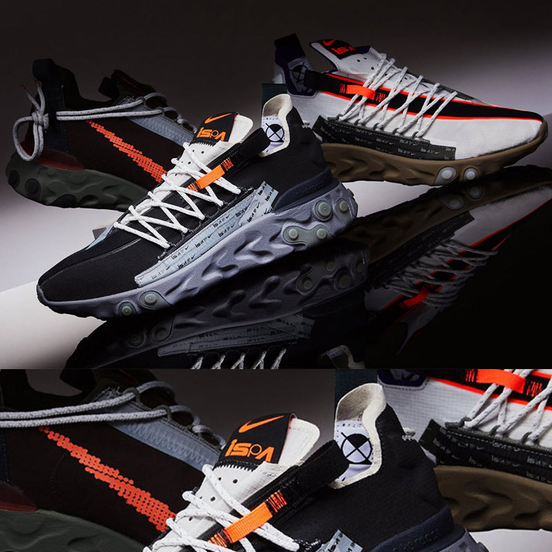 Nike React WR ISPA Pack With Water Resistant Uppers