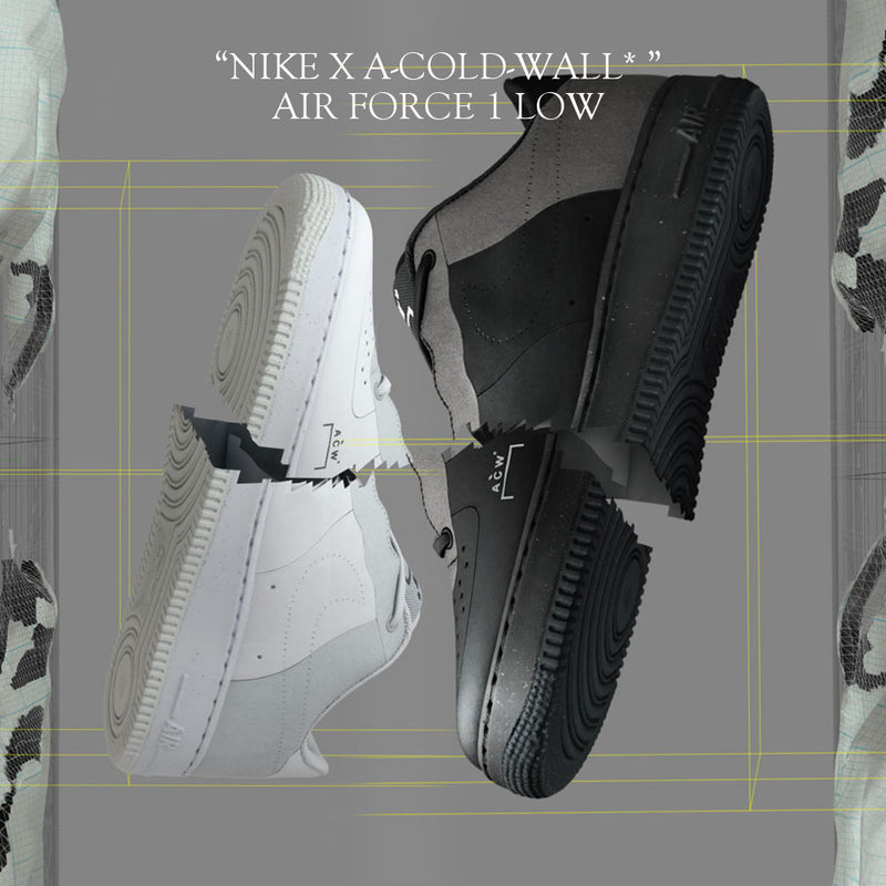 NikeLab x A-COLD-WALL Air Force 1 Low (Black & White)