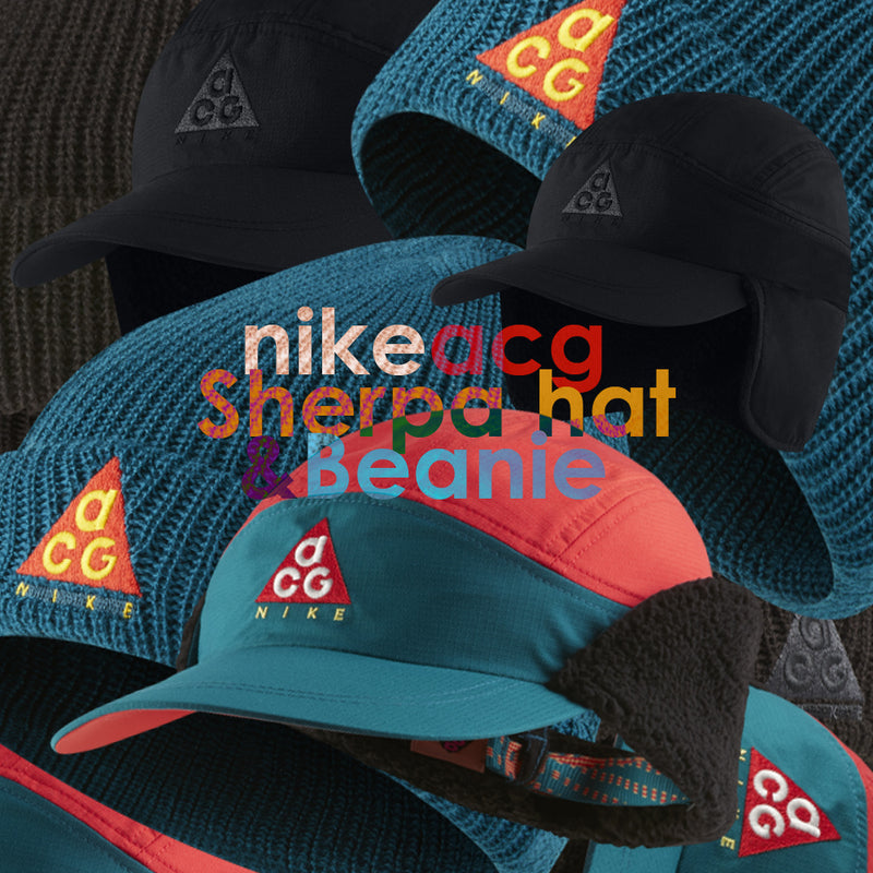 reputable site 3334b 44a1d Nike ACG Beanie   Sherpa Adjustable Hat