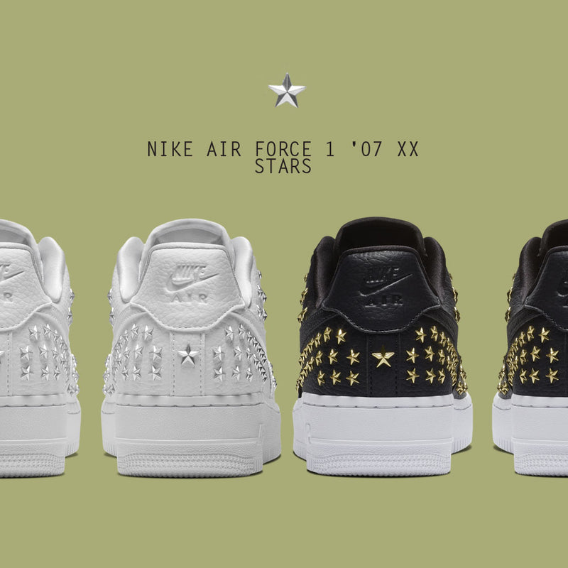 New Arrival : Nike Wmns Air Force 1 '07 XX Stars