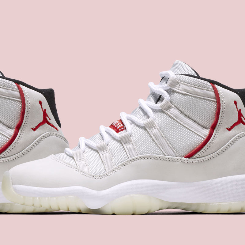 News : Nike Air Jordan 11 Retro (GS) Platinum Tint (378038-016)