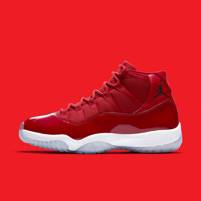 : Nike Air Jordan 11 Retro Win Like 96 Gym Red :