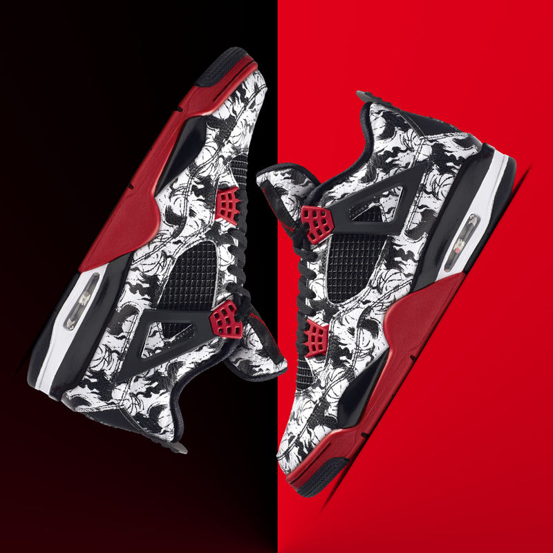 New Arrival Nike Air Jordan 4 Retro Singles Day Tattoo