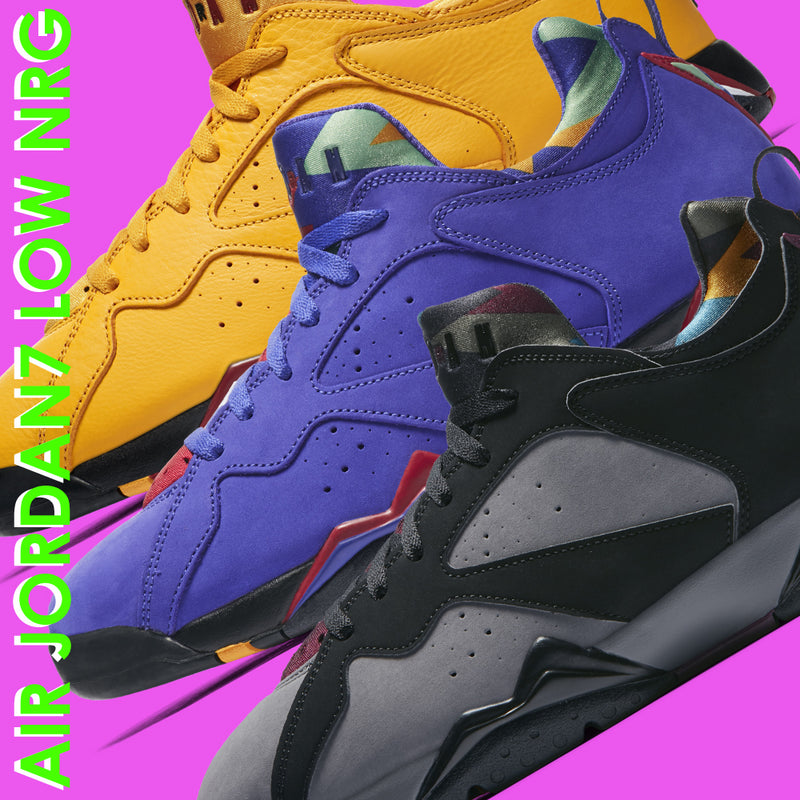 New Arrival : Nike Air Jordan 7 Low NRG Series