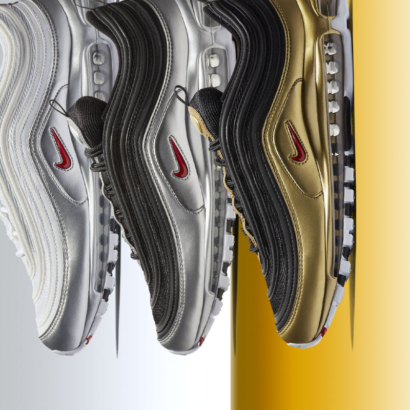 New Arrival : Nike Air Max 97 QS Metallic Pack