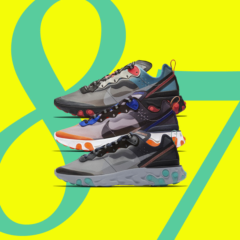 New Arrival : Nike React Element 87 Fall Collection