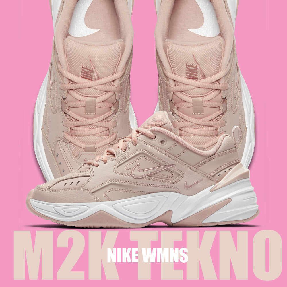 the latest d3670 b05a2 Nike Wmns M2K Tekno Particle Beige (AO3108-202)