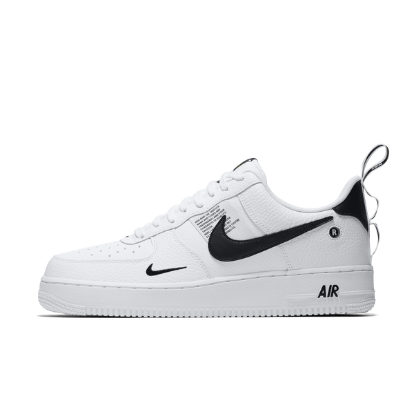 New Arrival Nike Air Force 1 07 Lv8 Utility Black White