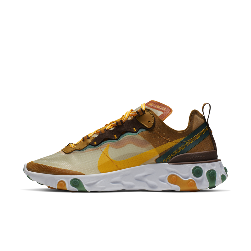 Nike React Element 87 Orange Peel (CJ6897-113)