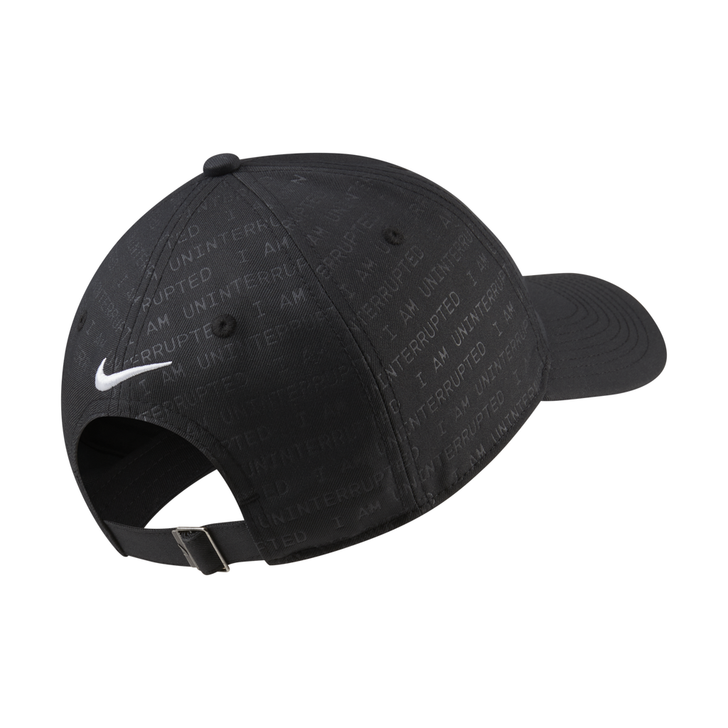 "Nike Heritage 86 ""MORE THAN AN ATHLETE"" Adjustable Hat (CV0277-010)"