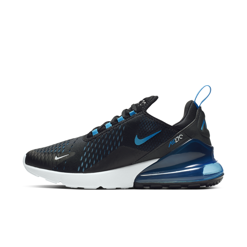 NIke Air Max 270 Black Photo Blue (AH8050-019)