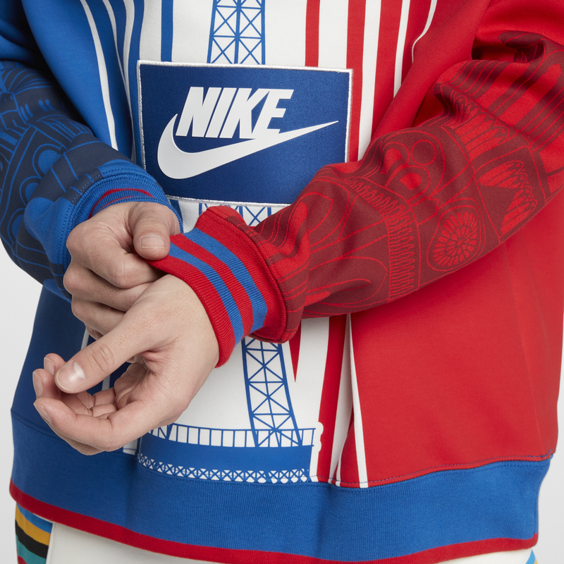 NikeLab Sportswear City Edition Crew Royal Red (AR1988-477)