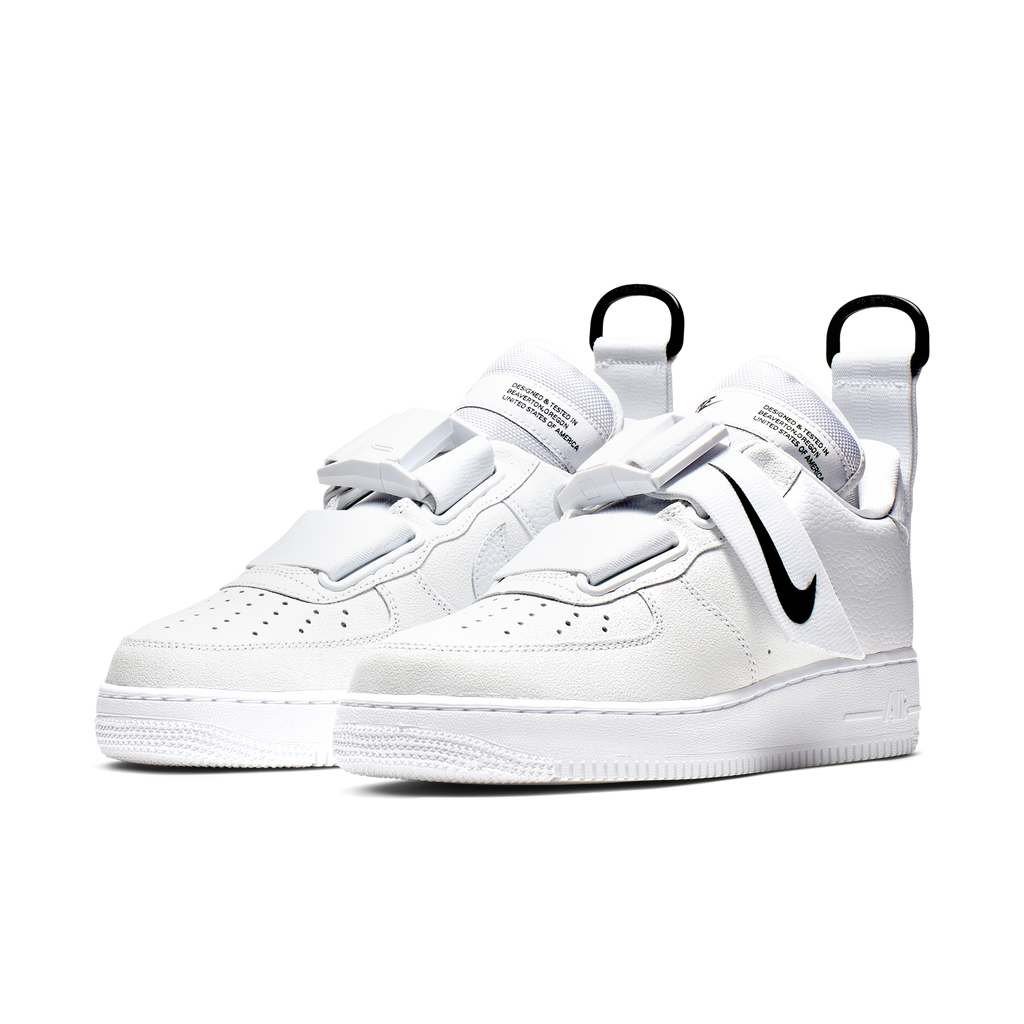 Nike Air Force 1 Utility White Black (AO1531-101)
