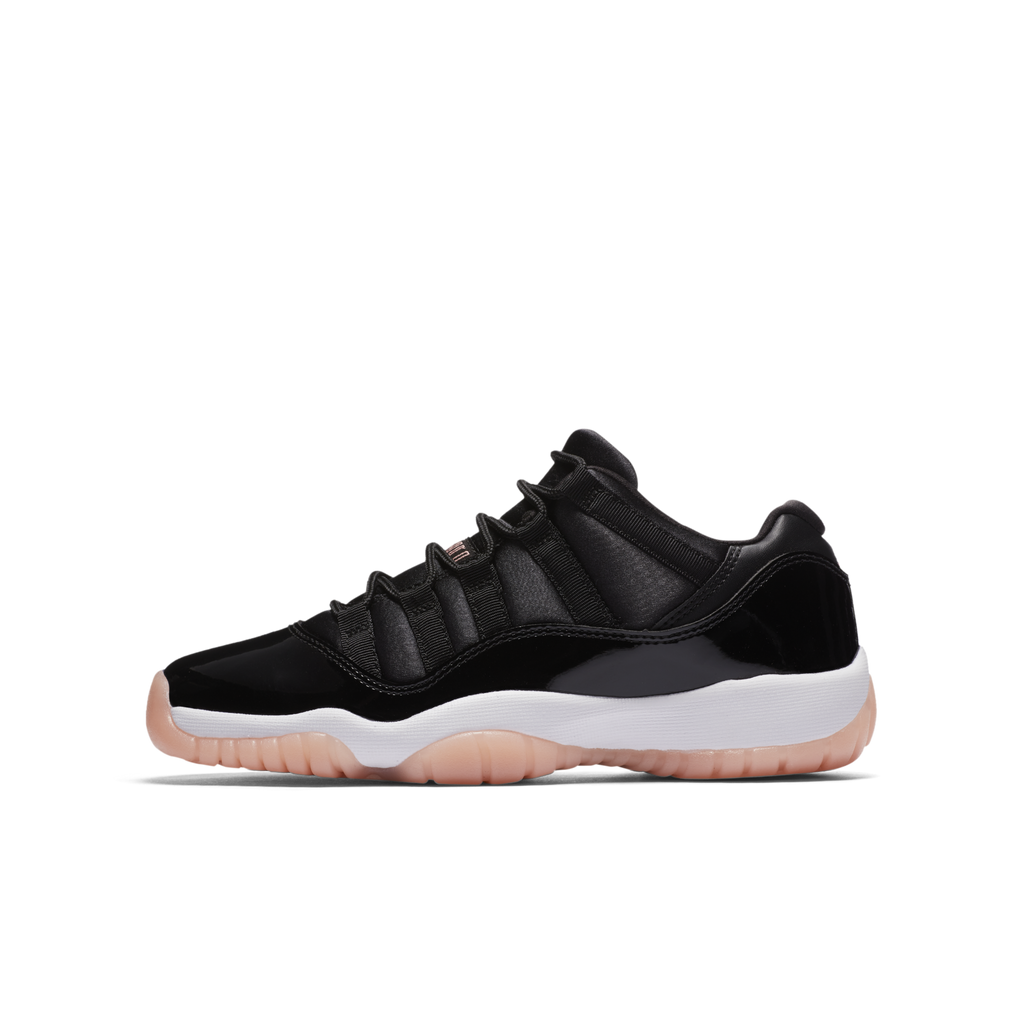 Nike Air Jordan 11 Retro Low (GG) Black Bleached (580521-013)