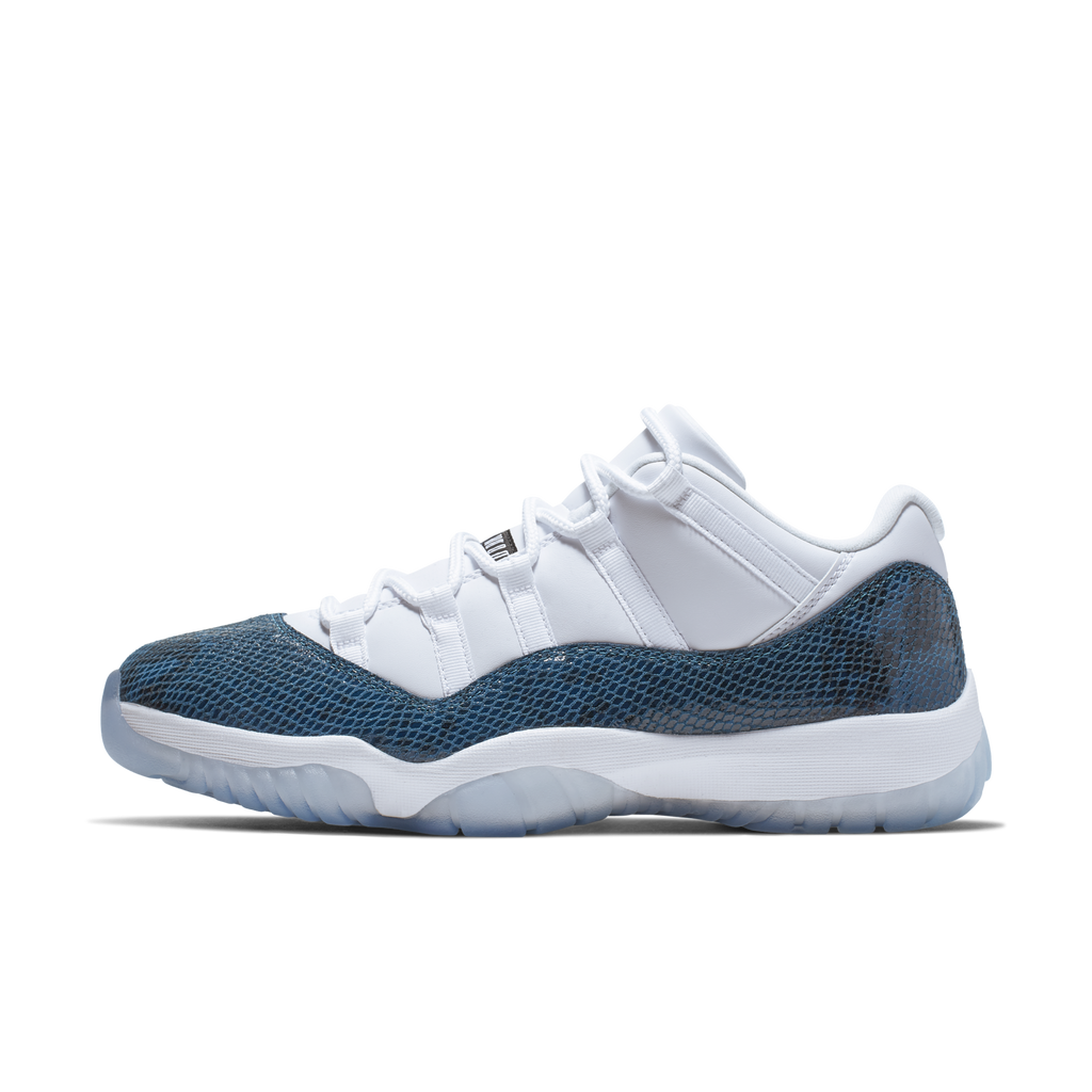 Nike Air Jordan 11 Retro Low LE Navy Snakeskin (CD6846-102)