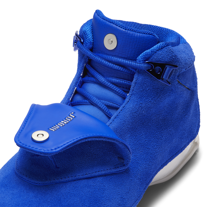 Nike Air Jordan 18 Retro Suede Blue (AA2494-401)