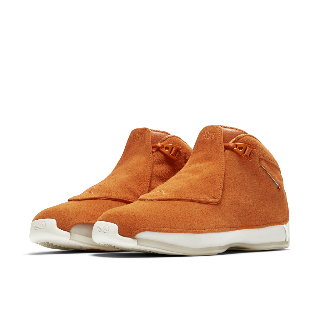 Nike Air Jordan 18 Retro Suede Orange (AA2494-801)