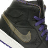 Nike Air Jordan 1 Mid Nouveau BHM Black History Month Purple Gold (629151-009)