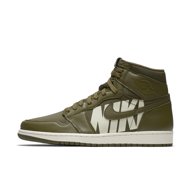 Nike Air Jordan 1 Retro High OG Olive Canvas (555088-300)