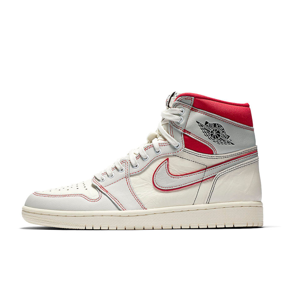 Nike Air Jordan 1 Retro High OG Sail Phantom Red (555088-160)