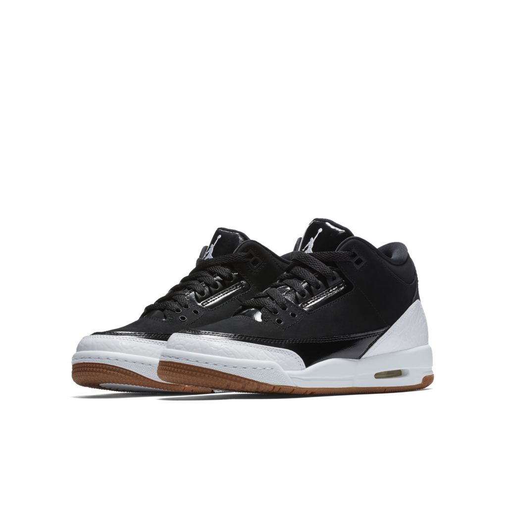 Nike Air Jordan 3 Retro (GG) Black White (441140-022)