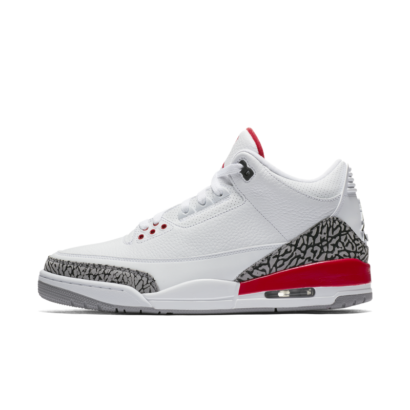 Nike Air Jordan 3 Retro Katrina White Fire Red (136064-116) - RMKSTORE