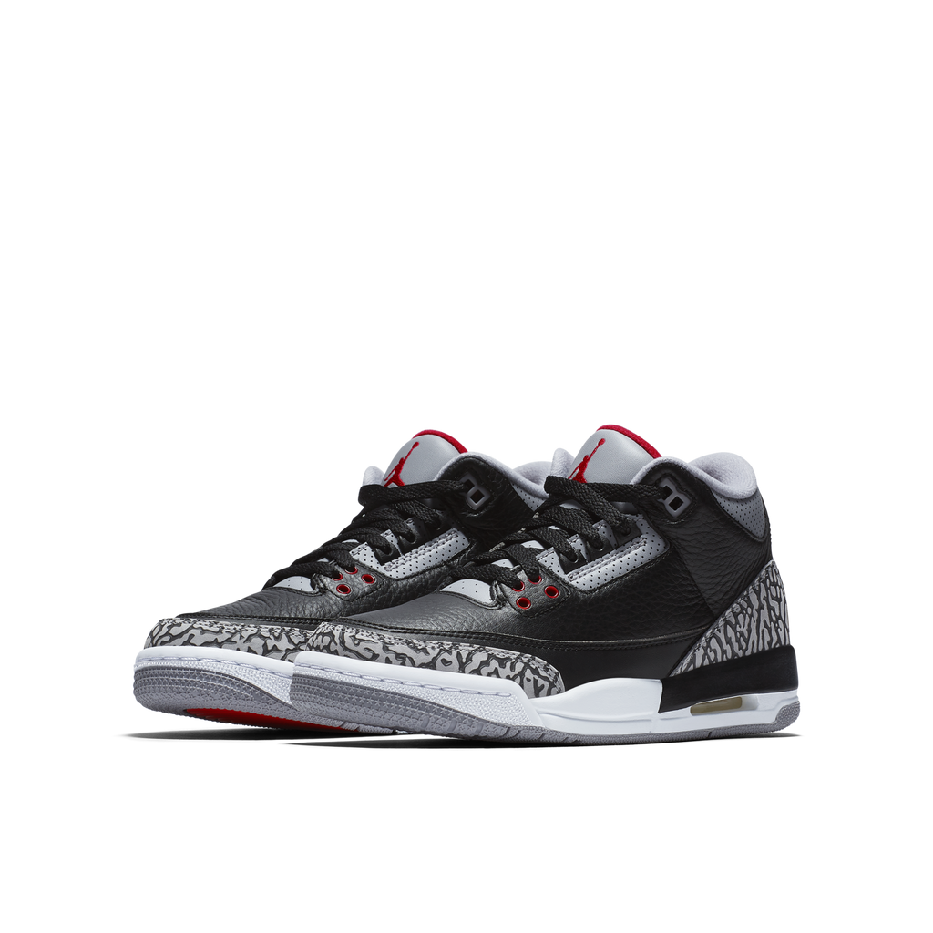 Nike Air Jordan 3 Retro OG (BG) Black Cement (854261-001)