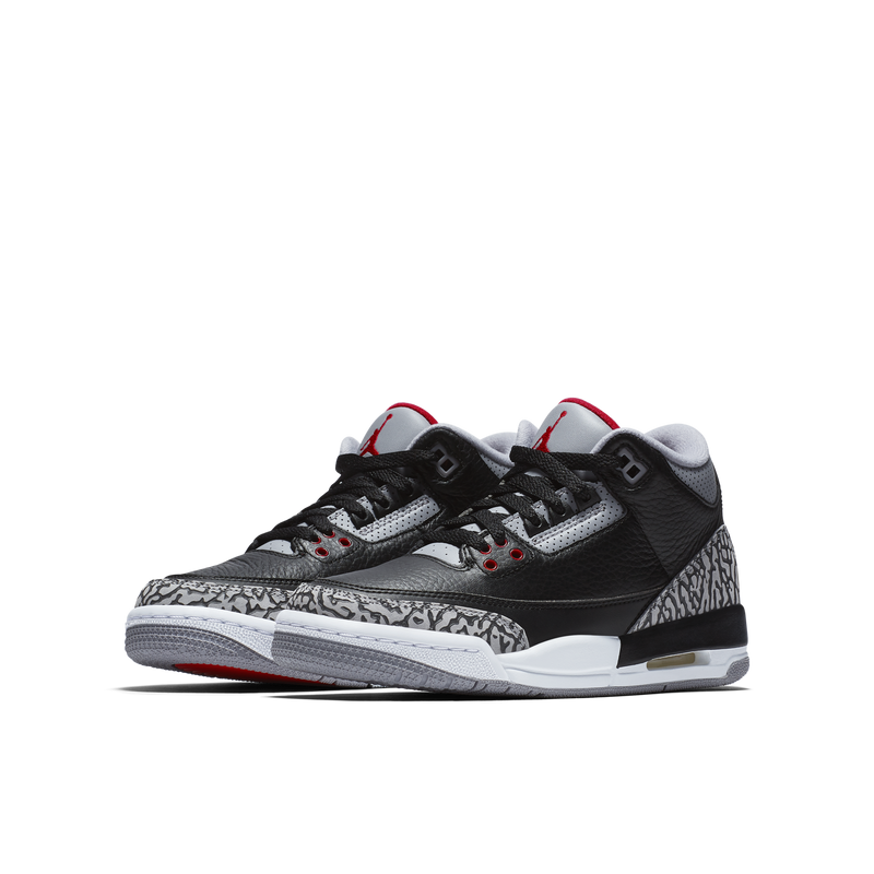 Nike Air Jordan 3 Retro OG (BG) Black Cement (854261-001) - RMKSTORE
