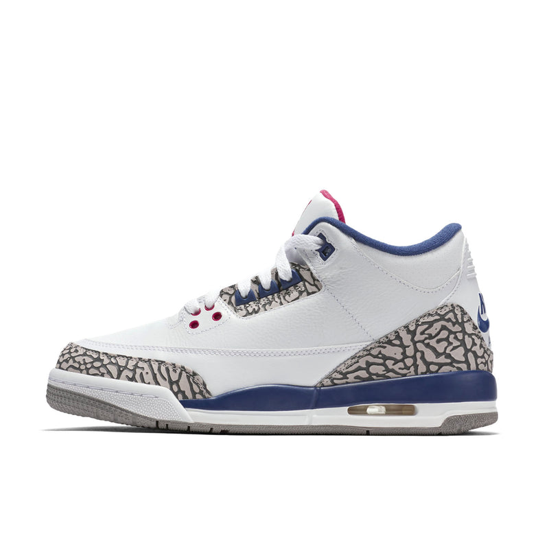 Nike Air Jordan 3 Retro OG (BG) White Cement True Blue (854261-106) - RMKSTORE