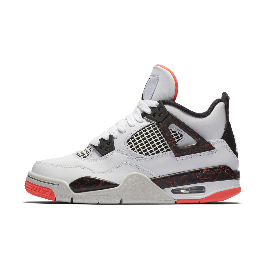 Nike Air Jordan 4 Retro (GS) Light Crimson (408452-116)