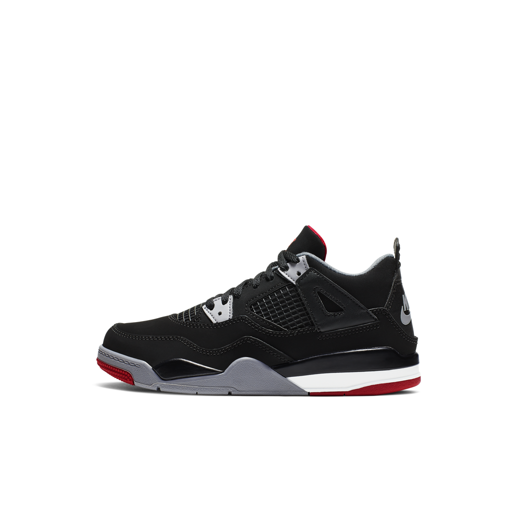 Nike Air Jordan 4 Retro (PS) Bred 2019 (BQ7669-060)