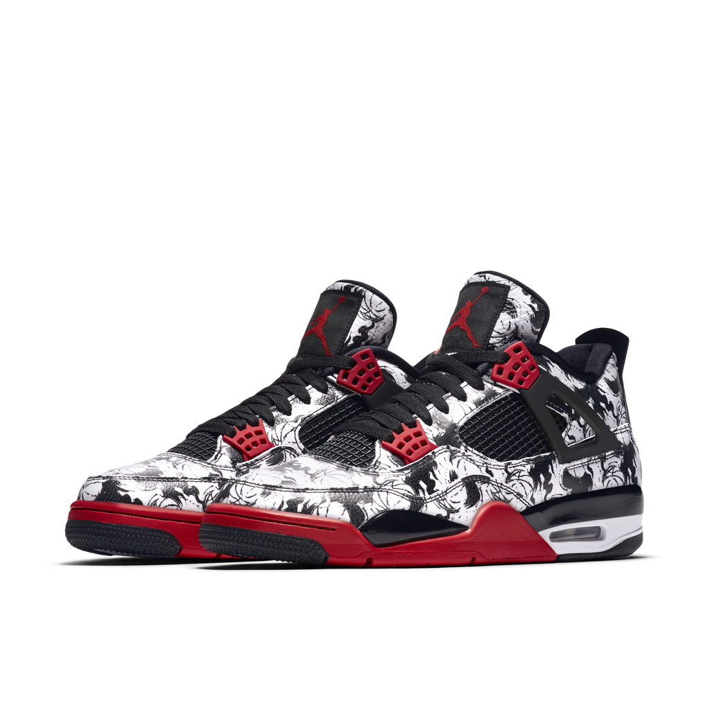 Nike Air Jordan 4 Retro Singles Day Tattoo (BQ0897-006)