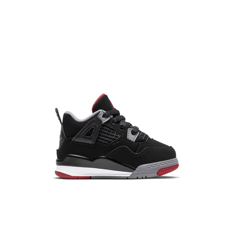 los angeles 6b409 8ba83 Nike Air Jordan 4 Retro (TD) Bred 2019 (BQ7670-060)