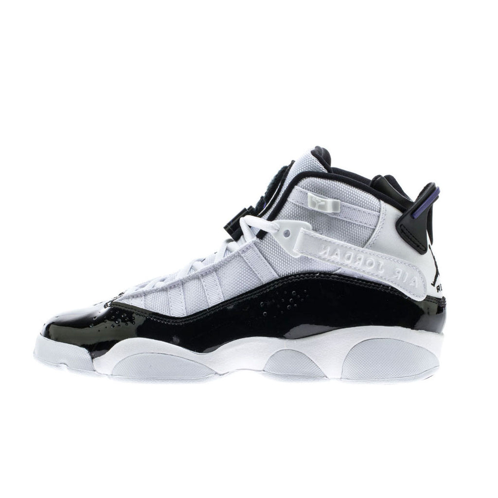 Nike Air Jordan 6 Rings (BG) White Black Concord (323419-104)