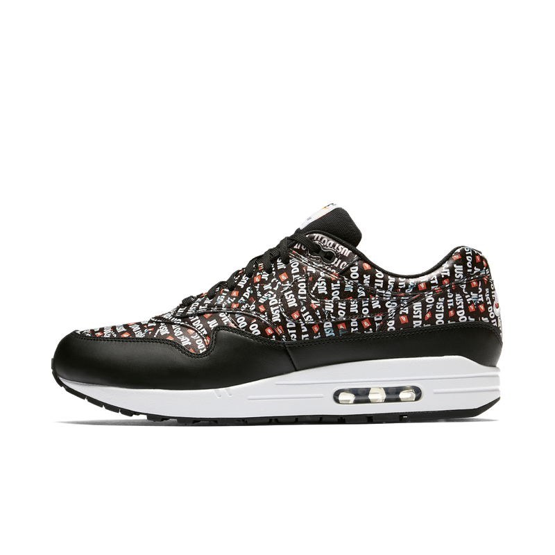 Nike Air Max 1 PRM Just Do It Black Orange (875844-009)