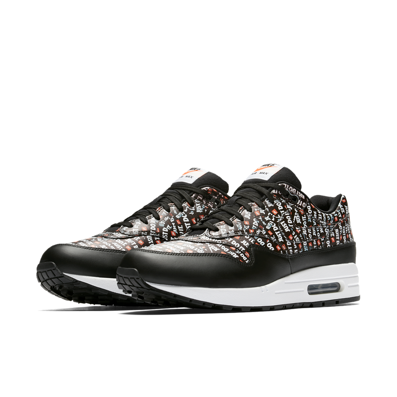 Nike Air Max 1 PRM Just Do It Black Orange (875844-009) - RMKSTORE