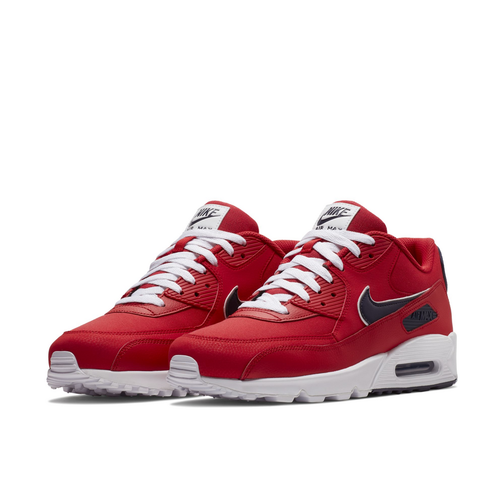 official photos 63085 42a27 Nike Air Max 90 Essential University Red Blackened Blue (AJ1285-601)