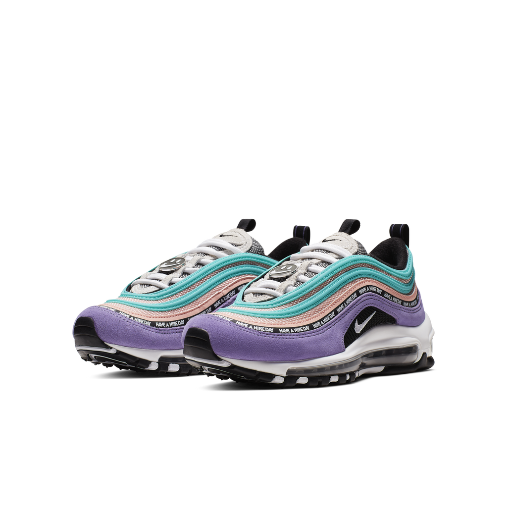 best service efbbf ce223 Nike Air Max 97 SE (GS) Have A Nike Day Purple (923288-