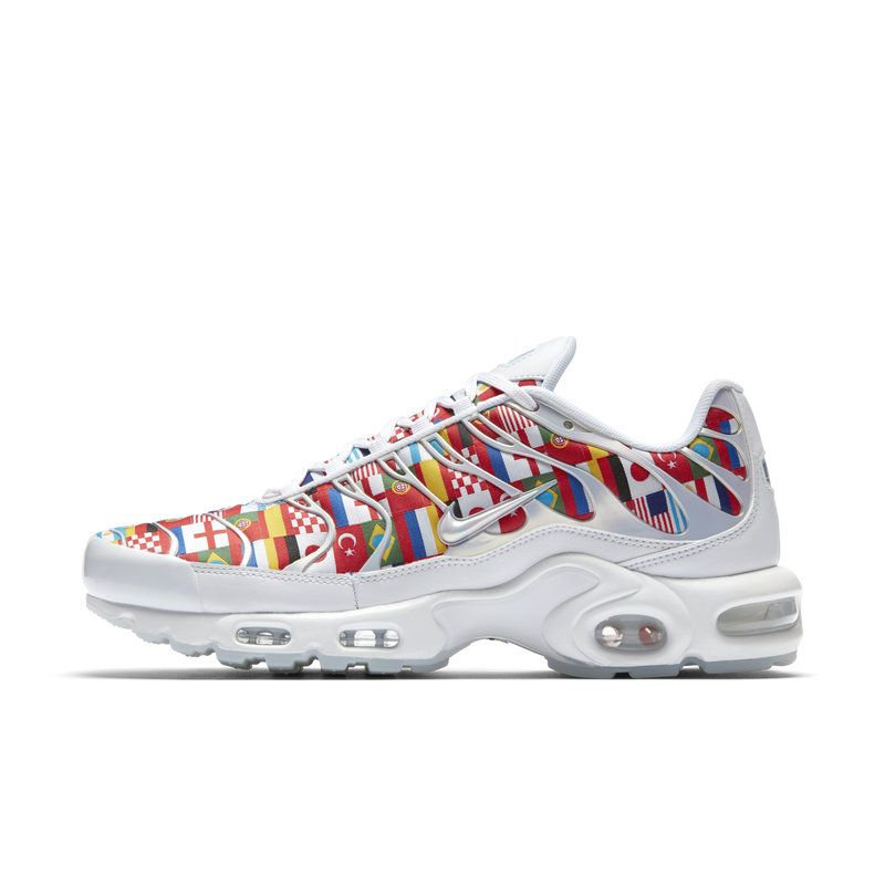 60d1713d66 Nike Air Max Plus NIC World Cup International Flag Pack (AO5117-100) -